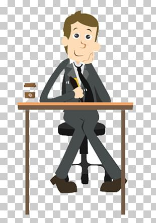 Business Man Animation PNG