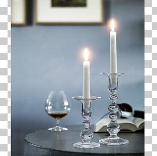 Holmegaard Charlotte Amalie Candlestick Tealight Glass PNG