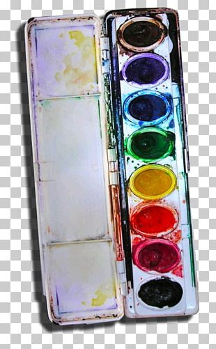 Palette Watercolor Painting Paper Crayon Paintbrush PNG