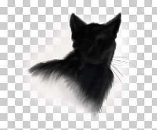 Norwegian Forest Cat Kitten Black Cat Logo PNG