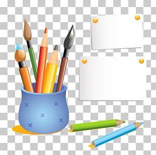 Colored Pencil Drawing Pen & Pencil Cases PNG