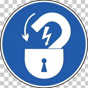 Lockout-tagout Electric Power Electricity Symbol Sign PNG