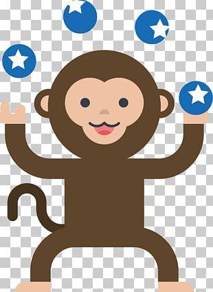 Monkey Circus PNG