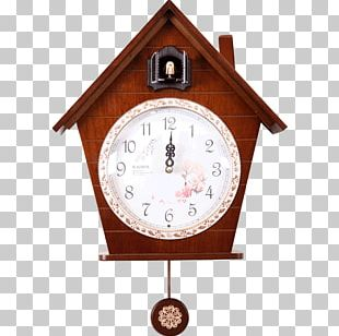 Cuckoo Clock Pendulum Clock Living Room Alarm Clock PNG
