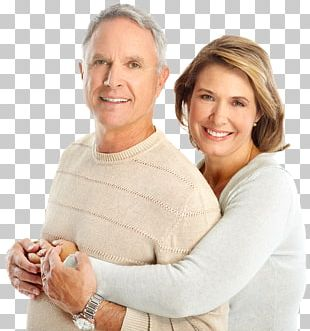 Old Age Couple Child Love Dentist PNG