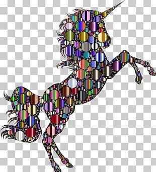 AutoCAD DXF Unicorn PNG