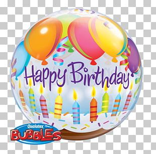 Hot Air Balloon Birthday Party Gift PNG