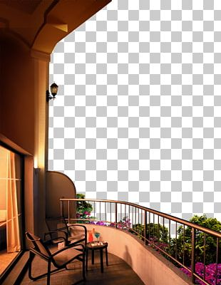 Balcony Poster PNG