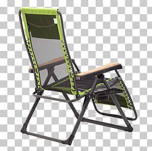 Deckchair Wing Chair Plastic Campsite PNG