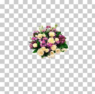 Flower Bouquet Birthday Garden Roses Gift PNG