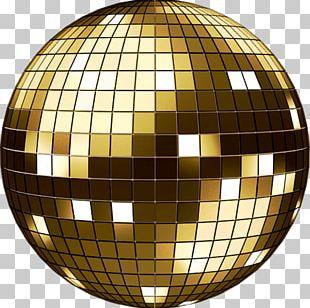 Disco Ball Mirror Light PNG