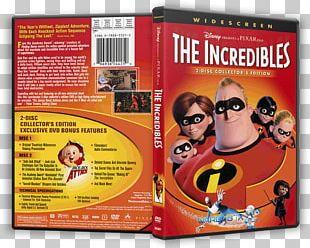 Blu-ray Disc DVD Pixar The Incredibles Film PNG