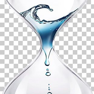 Hourglass Water Stock Photography PNG