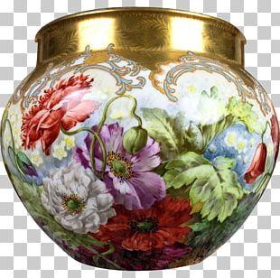 Limoges Porcelain Vase Limoges Porcelain Decorative Arts PNG
