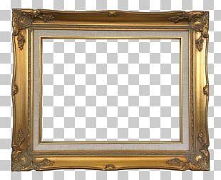 Frames Baroque Wood Carving Art PNG