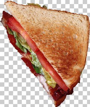 Hamburger BLT Butterbrot Bacon Breakfast Sandwich PNG
