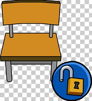 Club Penguin Table Chair Furniture PNG