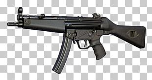 Heckler & Koch MP5 Submachine Gun Firearm Weapon PNG