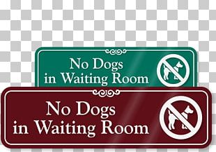 Medical Sign Disability Dog Signage PNG