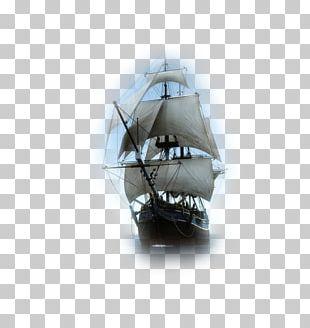 Pirate Sailing Ship Boat PNG