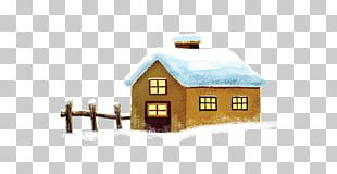 Snow Winter House PNG