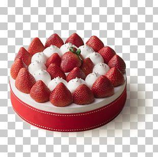 Strawberry Cheesecake Fruitcake Chocolate Cake Cream PNG