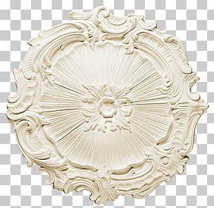 Ceiling Rosette Rose Window Ornament Cornice PNG