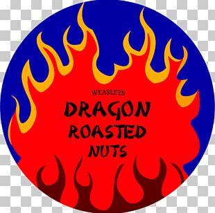 Roasting Nut Logo Dragon Weasley Family PNG