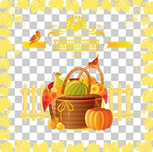 Thanksgiving Harvest Festival Illustration PNG