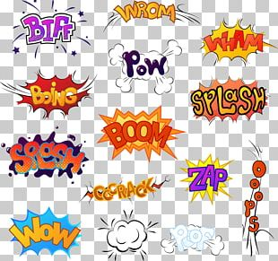 Comic Sound Comics Cartoon Illustration PNG