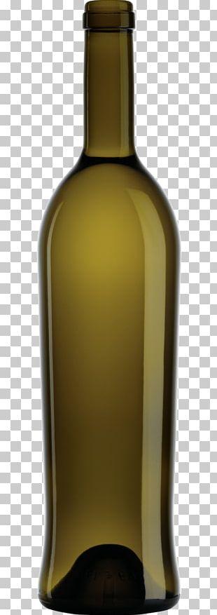 White Wine Glass Bottle Dessert Wine Liqueur PNG