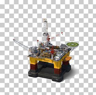 Oil Platform Petroleum Industry PNG