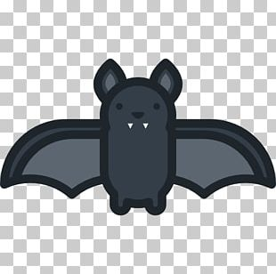 Halloween Bat Scalable Graphics Icon PNG