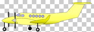 Airplane Fixed-wing Aircraft Air Transportation Propeller PNG