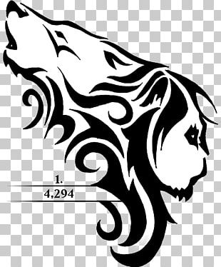 Lion Gray Wolf Tattoo Cougar Tiger PNG