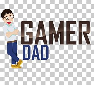 Logo Video Game Father Gamer PNG