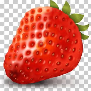 Strawberry ICO Fruit Icon PNG