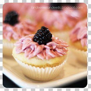 Cupcake Muffin Petit Four Buttercream Recipe PNG