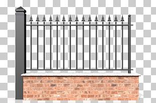 Picket Fence Baluster Gate Material PNG