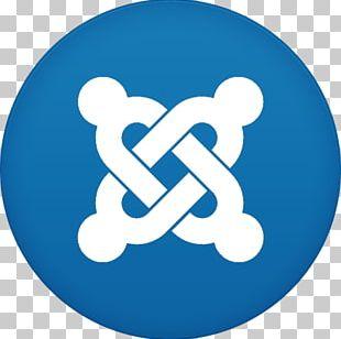 Blue Text Symbol Logo PNG