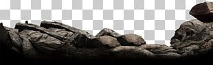 Ink Landscape Stone PNG