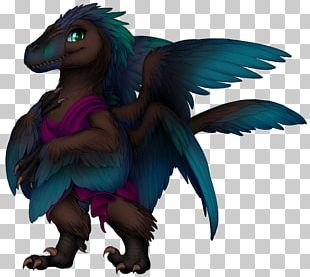 Velociraptor Dinosaur Dragon Wikia Feather PNG