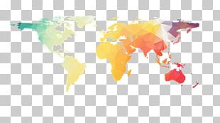 World Map Globe Graphics PNG
