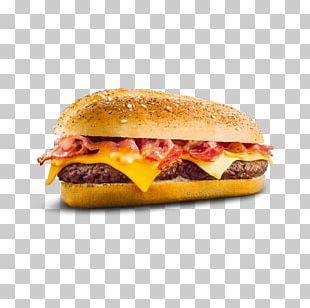 Cheeseburger Hamburger Fast Food Breakfast Sandwich Bacon PNG