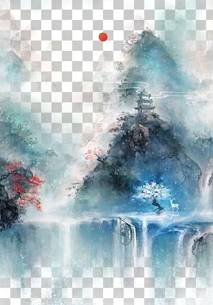 Chinese Art Asian Art Chinese Painting Illustration PNG