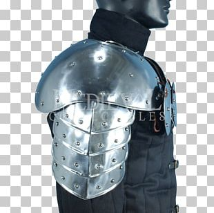 Middle Ages American Football Shoulder Pads Cuirass Components Of Medieval Armour PNG