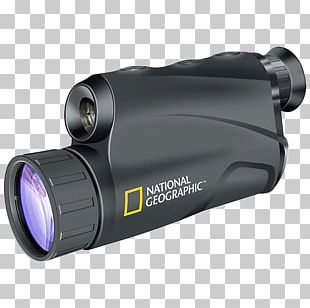 Night Vision Device Monocular National Geographic Binoculars PNG
