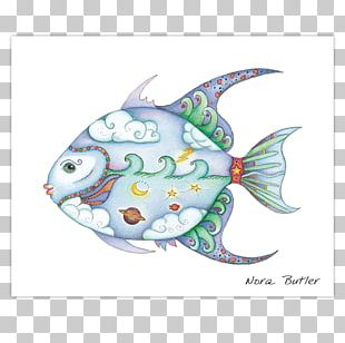 Art Painting Fish PNG