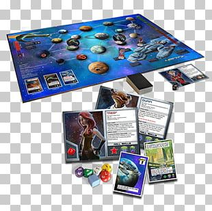 Board Game Set Stronghold Star Realms PNG