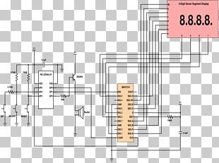 Timer Electronic Circuit Countdown Schematic Circuit Diagram PNG